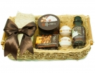 The Coffee-Chocolate Natural Cosmetics Set