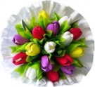 The Tulips Bouquet made with... Sweets!