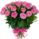 Pink roses Medium size, 24-27 inch