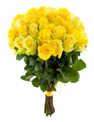 Yellow Roses Long Stem