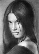 Portrait from Artist Dry Brush Technology