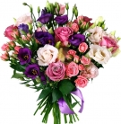 Mixed pink bouquet