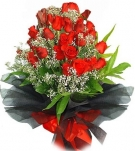 The Red Roses Bouquet