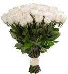 Elite Long Stem White Roses