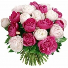 Mixed Peonies Bouquet - unavailable in 2018