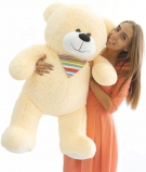 Peach color Bear 100-110 cm