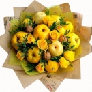 "Edible bouquet ""Yellow"""