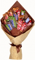 Multicolored Chocolate Bouquet