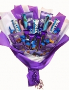 Purple Chocolate Bouquet