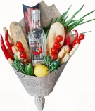 A Bouquet with Vodka