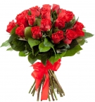 "Red roses Medium size, 24-27"", Premium"