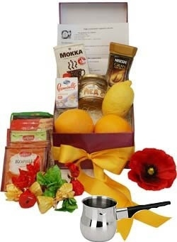 The Gift Set for Coffee With Spices due to 8 Recipes