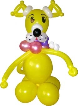The Doggy Made of Balloons