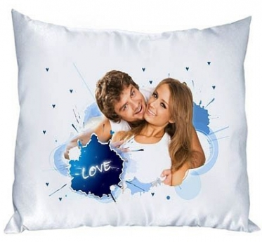The Pillow with  Your Photo or Words
