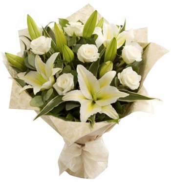 White Roses and...  White Lilies