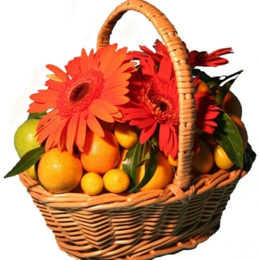 Tangerines & Oranges Basket