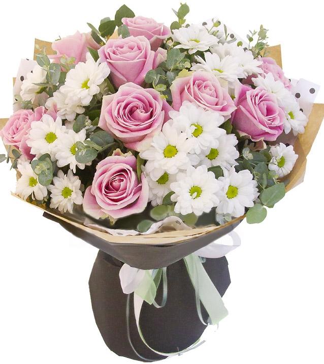 минувший букет из розовых роз и хризантем фото насекомые квартире