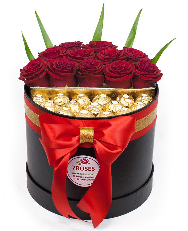 roses and ferrero image 0