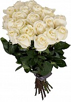 Elite Long Stem White Roses image 0