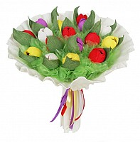 The Tulips Bouquet made with... Sweets! image 0