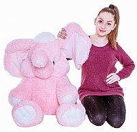 Pink Elephant from 50 to 120 cm image 1
